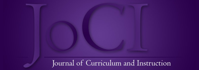 JoCI  Journal of Curriculum and Instruction
